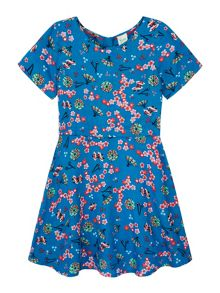 Yumi Girls Printed Japanese Day Dress