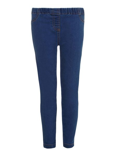 Yumi Girls Blue Stretch Jeggings
