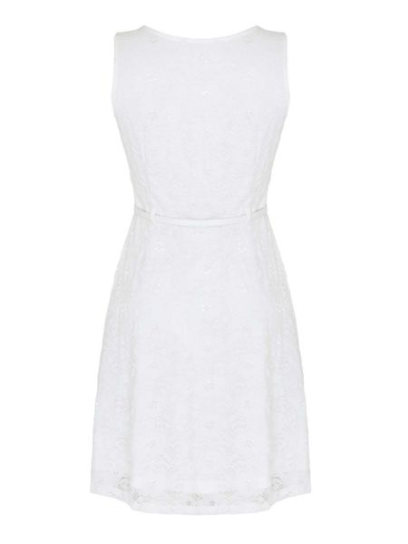 Mela London Lace Skater Dress