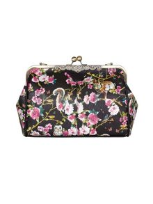 Yumi Non Leather Floral Shoulder Bag