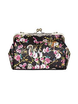 Non Leather Floral Shoulder Bag