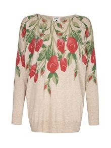Yumi Flower Printed Jumper