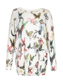 Yumi Butterfly Knit Jumper
