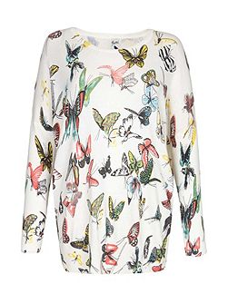 Butterfly Knit Jumper