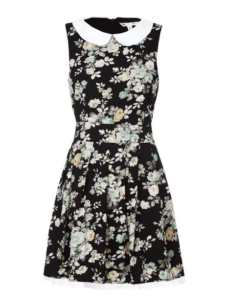 Yumi Floral Print Day Dress