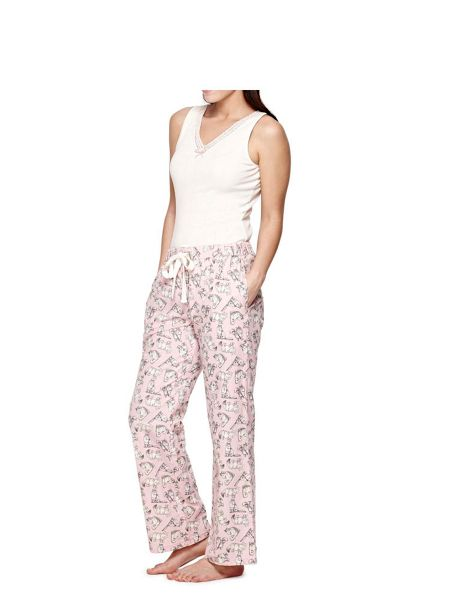 Yumi Cat PJ Bottoms