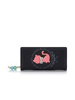 Cat Bow Detail Wallet