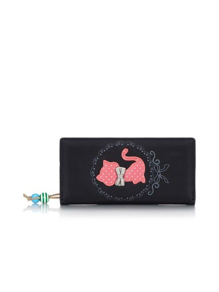Yumi Cat Bow Detail Wallet