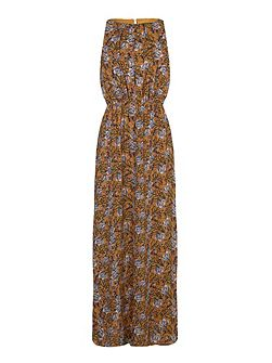 Multi Maxi Dress With Floral Print