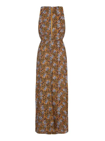 Mela London Multi Maxi Dress With Floral Print