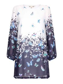 Yumi Butterfly Tunic Dress