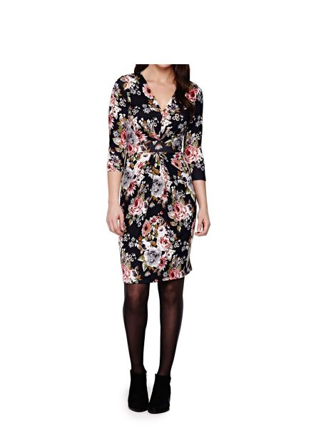 Yumi Floral Knit Dress
