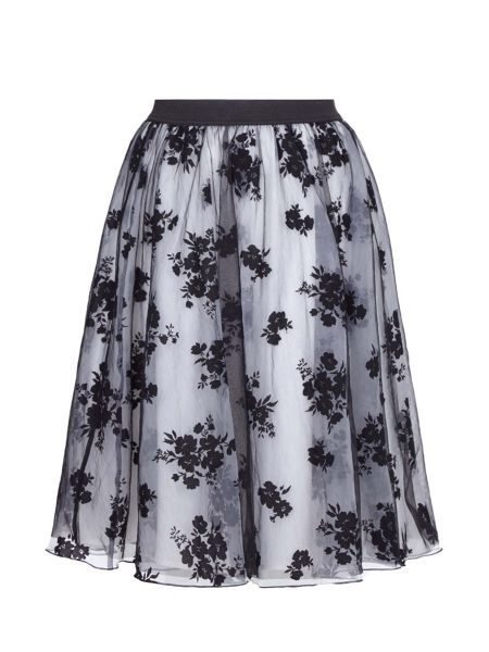 Yumi Floral Print Occasion Skirt
