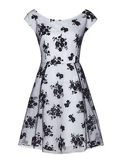 Floral Print Occasion Dress