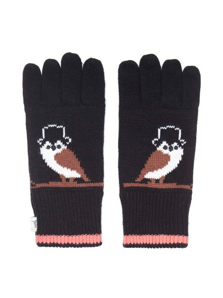 Yumi Owl Knitted Gloves