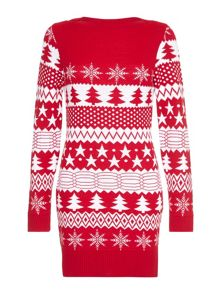 Yumi Festive Jumper Dress