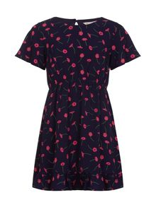 Yumi Girls Daisy Printed Dress