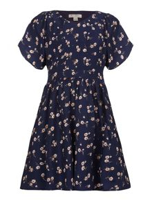 Yumi Girls Floral Print Dress