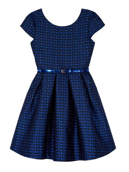 Yumi Girls Daisy Sparkle Party Dress