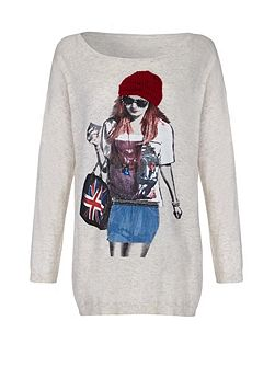 Girl Embellishment Jumper
