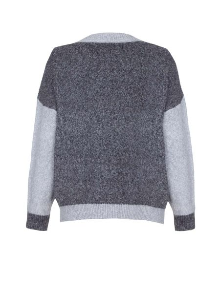 Mela London Crew Neck Knit Cardigan