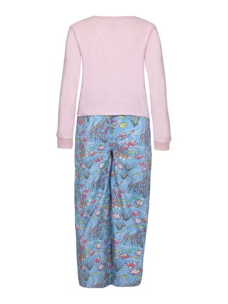 Yumi Girls Garden Printed Pyjama Set