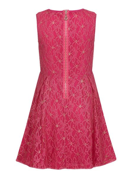 Yumi Girls Lace Party Dress