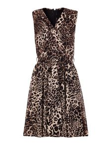 Mela London Leopard Printed Day Dress