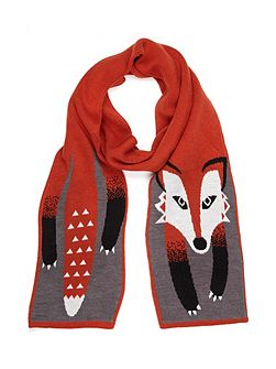 Fox Knit Scarf