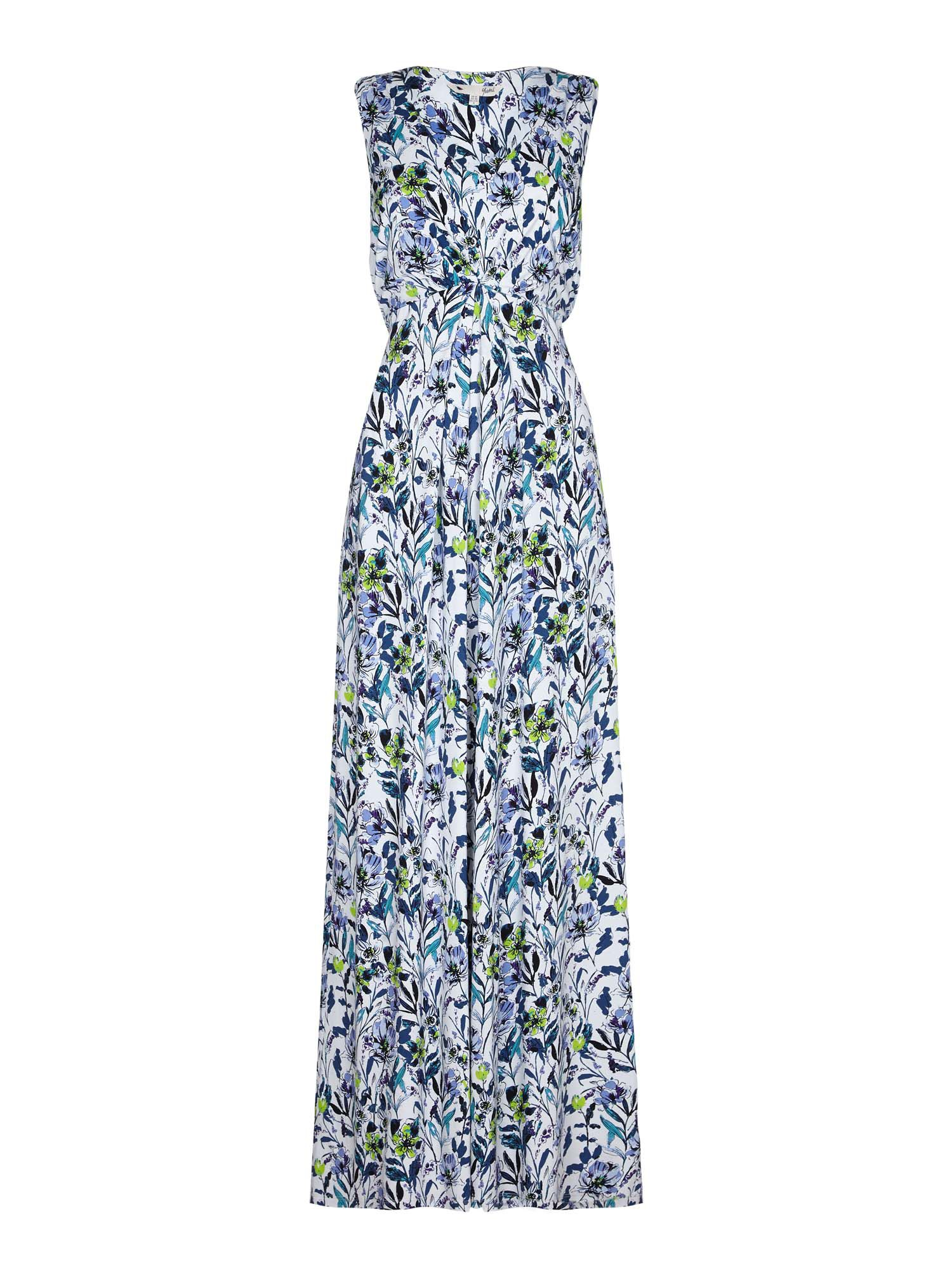 Yumi Wildflower Maxi Dress, Multi-Coloured