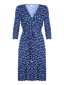 Yumi Floral Wrap Dress