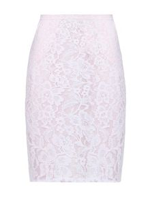 Yumi Lace Pencil Skirt