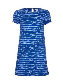 Yumi Girls Anchor Tunic Dress