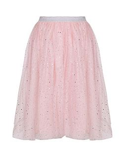 Embellished Sparkle Tutu Skirt