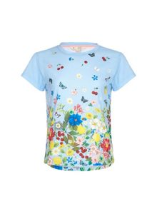 Yumi Girls Floral T-Shirt