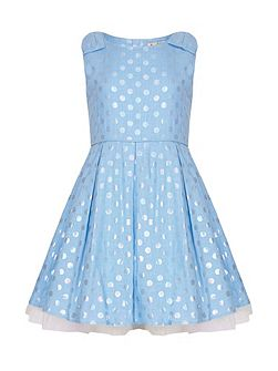 Polka Dot Party Dress