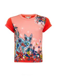 Yumi Girls Moroccan Cat T-Shirt