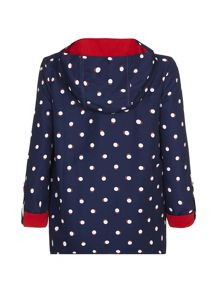 Yumi Girls Spot Parka Jacket