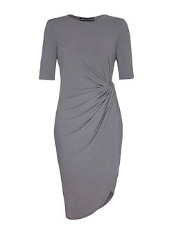 Gathered Bodycon Dress