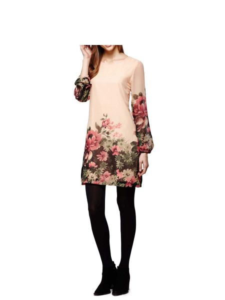 Yumi Floral Tunic Dress