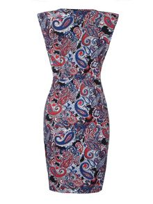 Mela London Paisley Sleeveless Dress