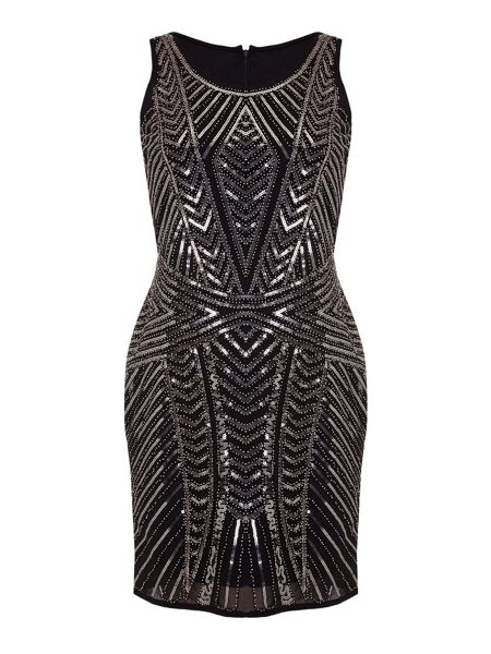 Mela London Embellished Party Dress