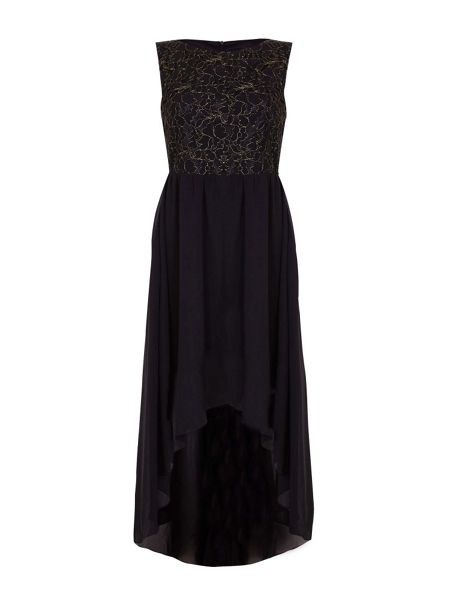 Mela London Lace Top Panel Party Dress