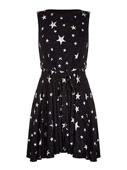 Starry Night Skater Dress