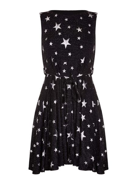 Mela London Starry Night Skater Dress