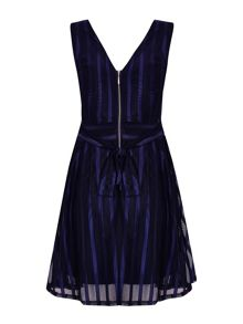 Mela London Stripe Party Dress