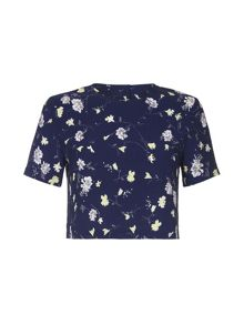 Yumi Floral Shell Top