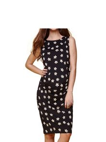 Yumi Daisy Print Dress