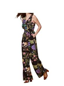 Yumi Tropical Floral Jumpsuit