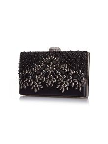 Yumi Bead Embellished Clutch Bag